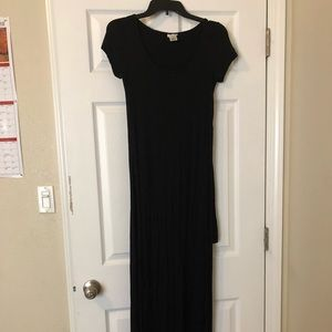 Black front/back Tie Dress
